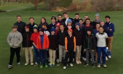 Rencontre Ecole de Golf à La Valdaine le 29 novembre 2015
