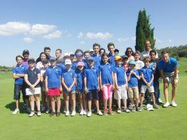 Fête de lécole de golf 2015