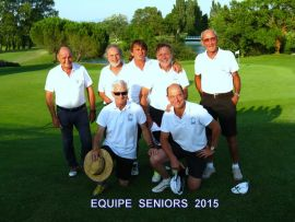 Equipe Seniors 2015